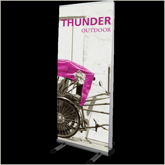 Banner Holders Outdoor Thunder Outdoor Banner Stand