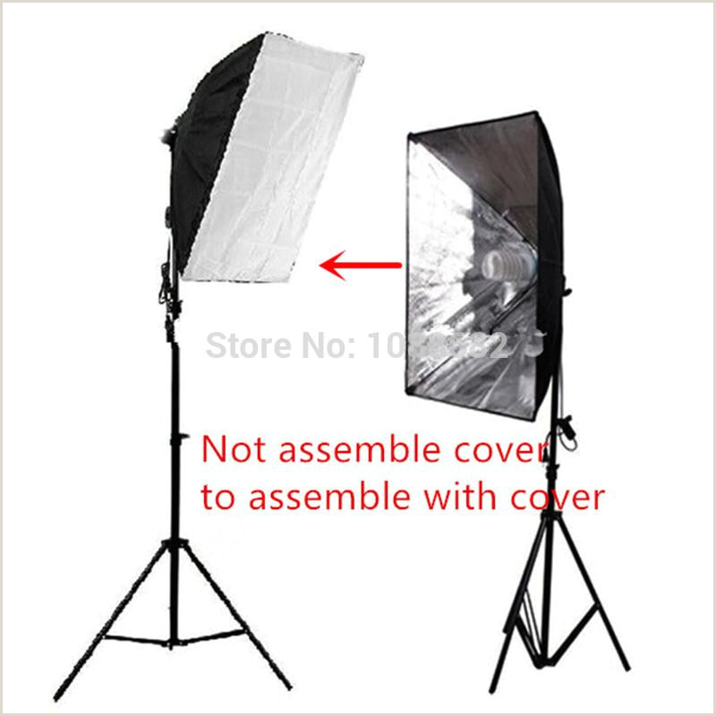 Banner Light Screen 2020 Graphy Lighting Kit 2m Studio Light Stand TriPod 50x70cm Studio Softbox Light Tent With E27 Socket Bulb Holder From Goodgo $140 96