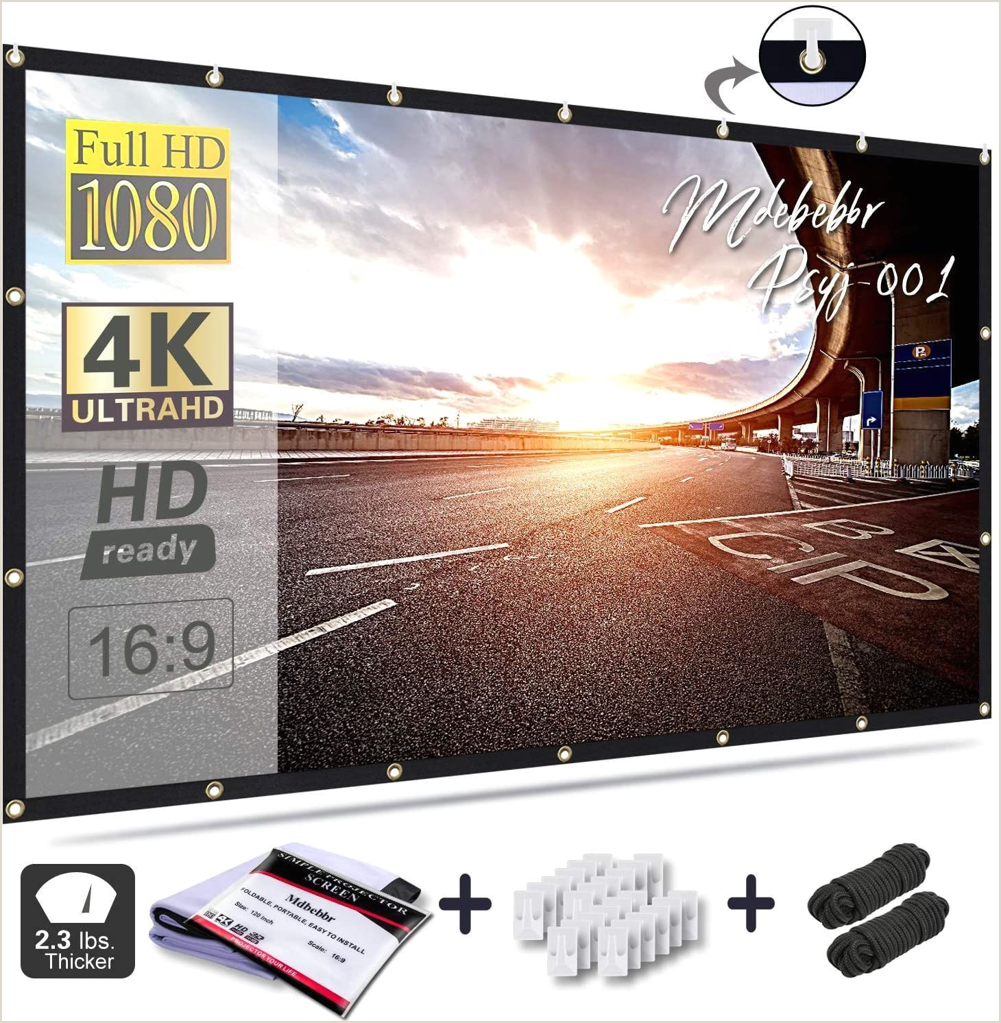 Banner Light Screen Enjoy A Happy Time Watching A Movie Or Ball Game With Your
