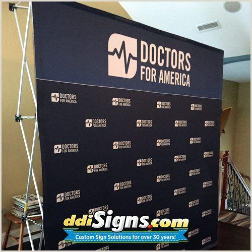 Banner Pop Up Ddi Signs Pop Up Political Press Backdrop For Doctors For