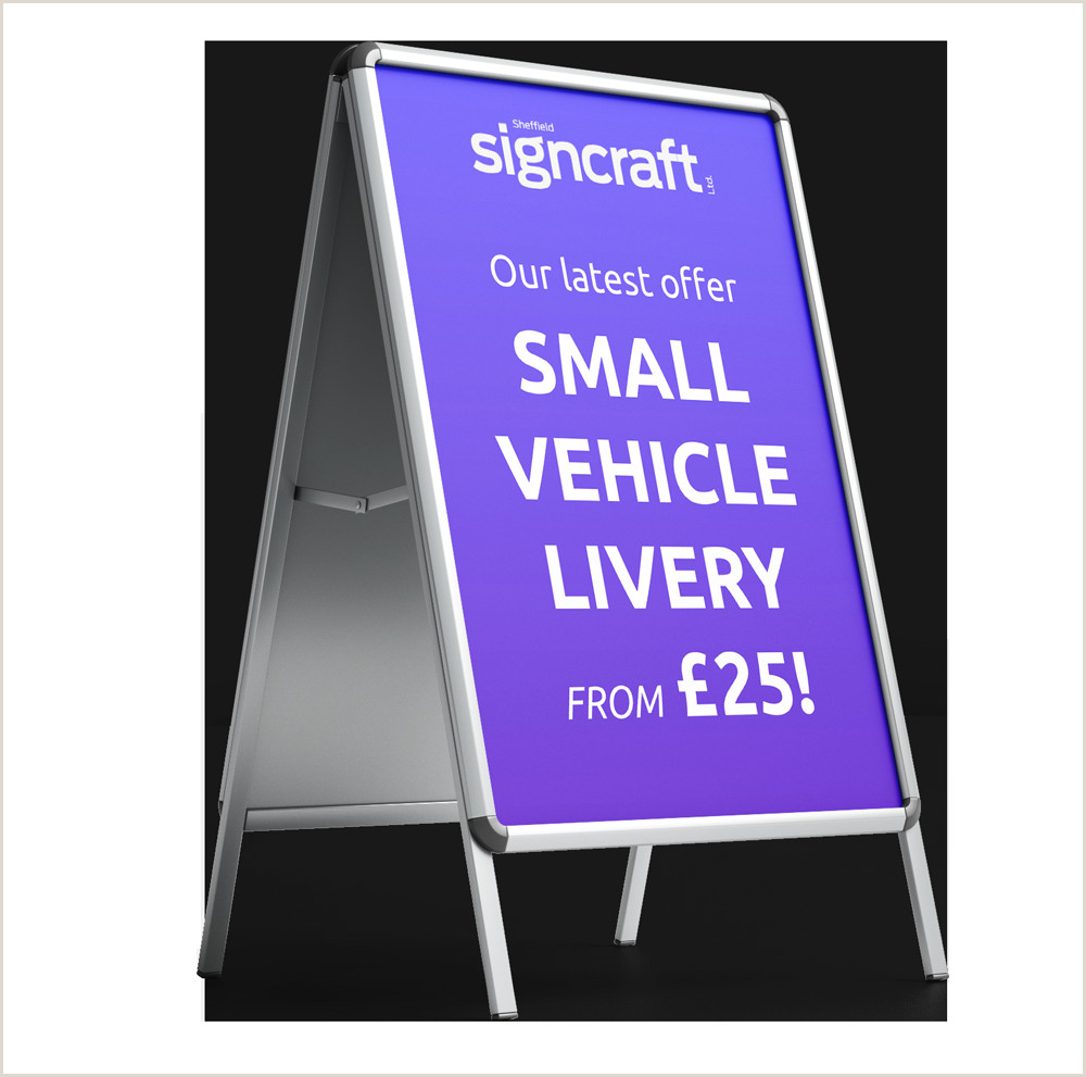 Banner Pop Up Quality Signs And Sign Making In South Yorkshire Sheffield