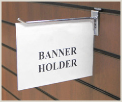 Banner Sign Holders Flag Style Sign Holder