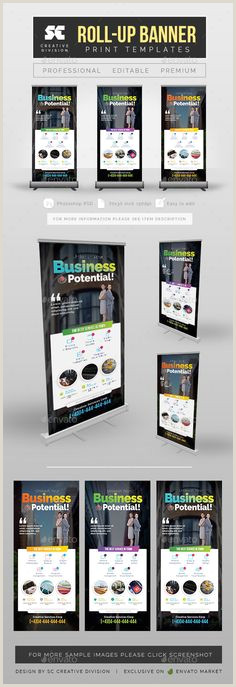 Banner Stand Cases 20 Best Roll Up Banner Design Images In 2020