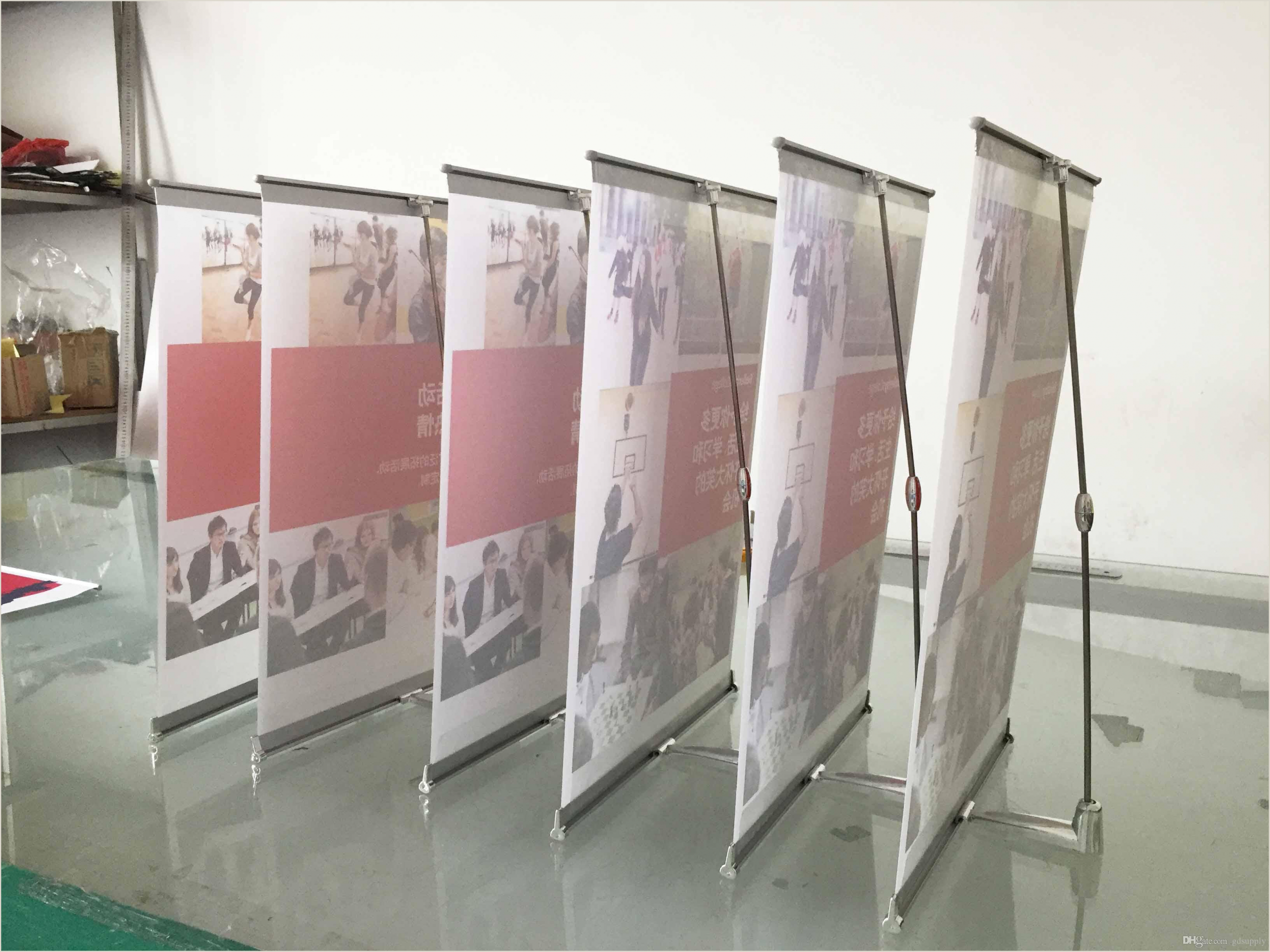 Banner Stand Cases 2020 Mini L Banner Desktop A3 Size Display Stand For Meeting From Gdsupply $5 64