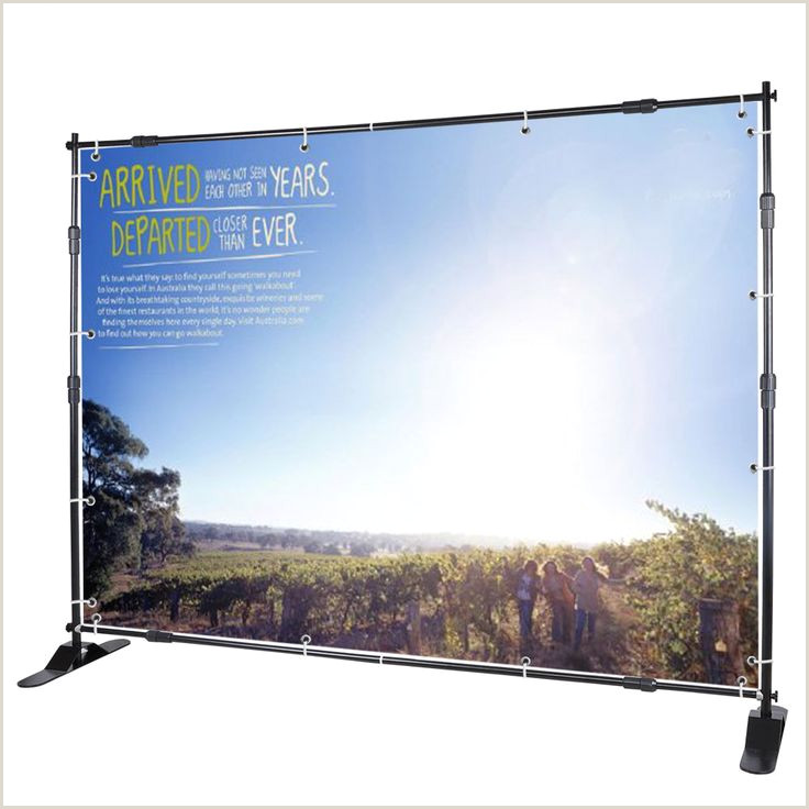 Banner Stand Cases 8 Jumbo Telescopic Trade Show Adjustable Banner Stand