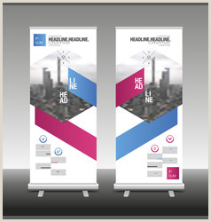 Banner Stand Design Banner Stand Vector Over 27 000