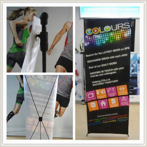 Banner Stand Dimensions Standard Size Portable L Style Banner Stand Bn 01