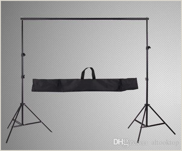 Banner Stand Horizontal 2020 Wholesale 2m 2m 6 5ft 6 5ft 2m Professinal Graphy Backdrop Background Support System Frame Fotografia Stands Studio Carry Bag From
