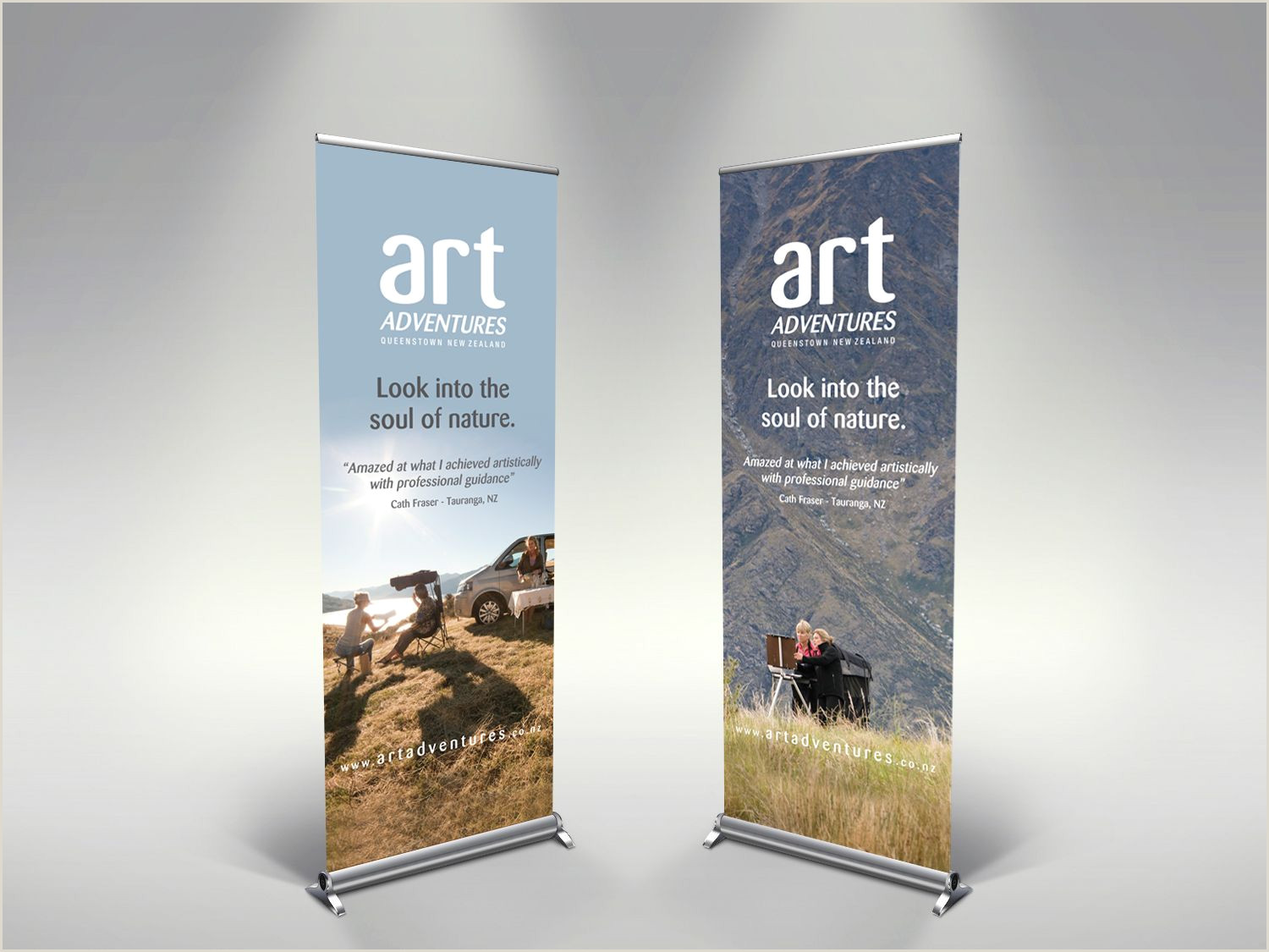 Banner Stand Horizontal Adjustable X Stand Banner