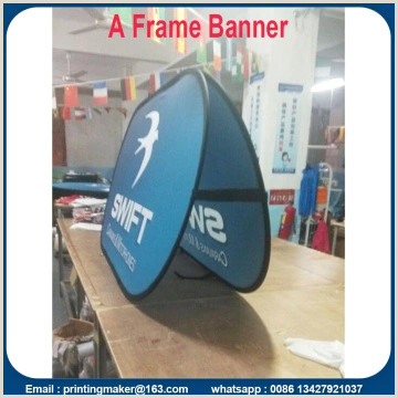 Banner Stand Horizontal China Manufacturer Of Pop Up Display Pop Up Banner Stand