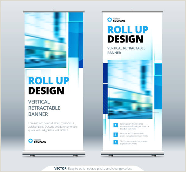 Banner Stand Ideas Free Banner Stand Vector Art
