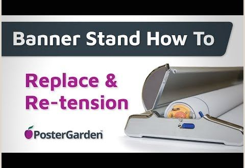 Banner Stand Instructions Banner Stand Instructions Replace & Re Tension Graphics