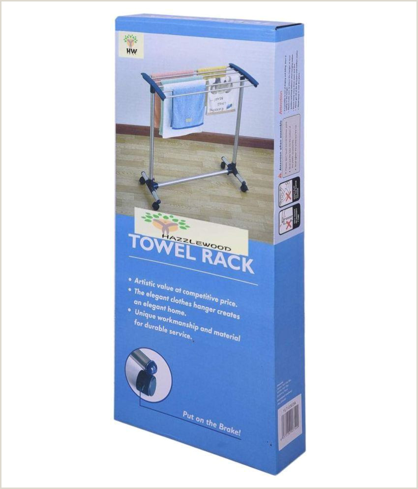 Banner Stand Instructions Hazzlewood Stainless Steel Polypropelene Floor Cloth Dryer Stand Steel Blue