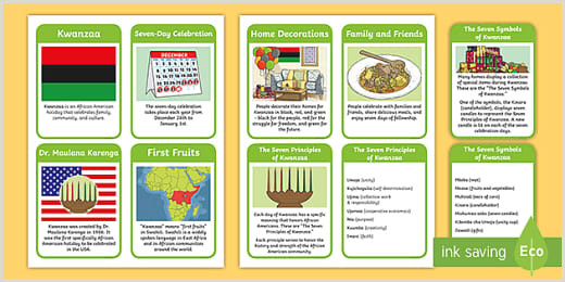 Banner Stand Instructions Kwanzaa Mat Craft Instructions African American Holiday Twinkl