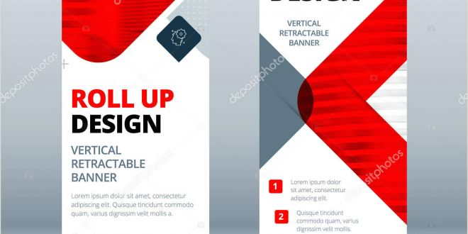 Banner Stand Retractable Business Roll Up Banner Stand Abstract Roll Up Background for Presentation Vertical Roll Up X Stand X Banner Exhibition Retractable Banner Stand