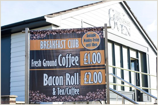 Banners On A Roll Breakfast Bacon Roll & Tea Or Coffee For Only £2 Picture