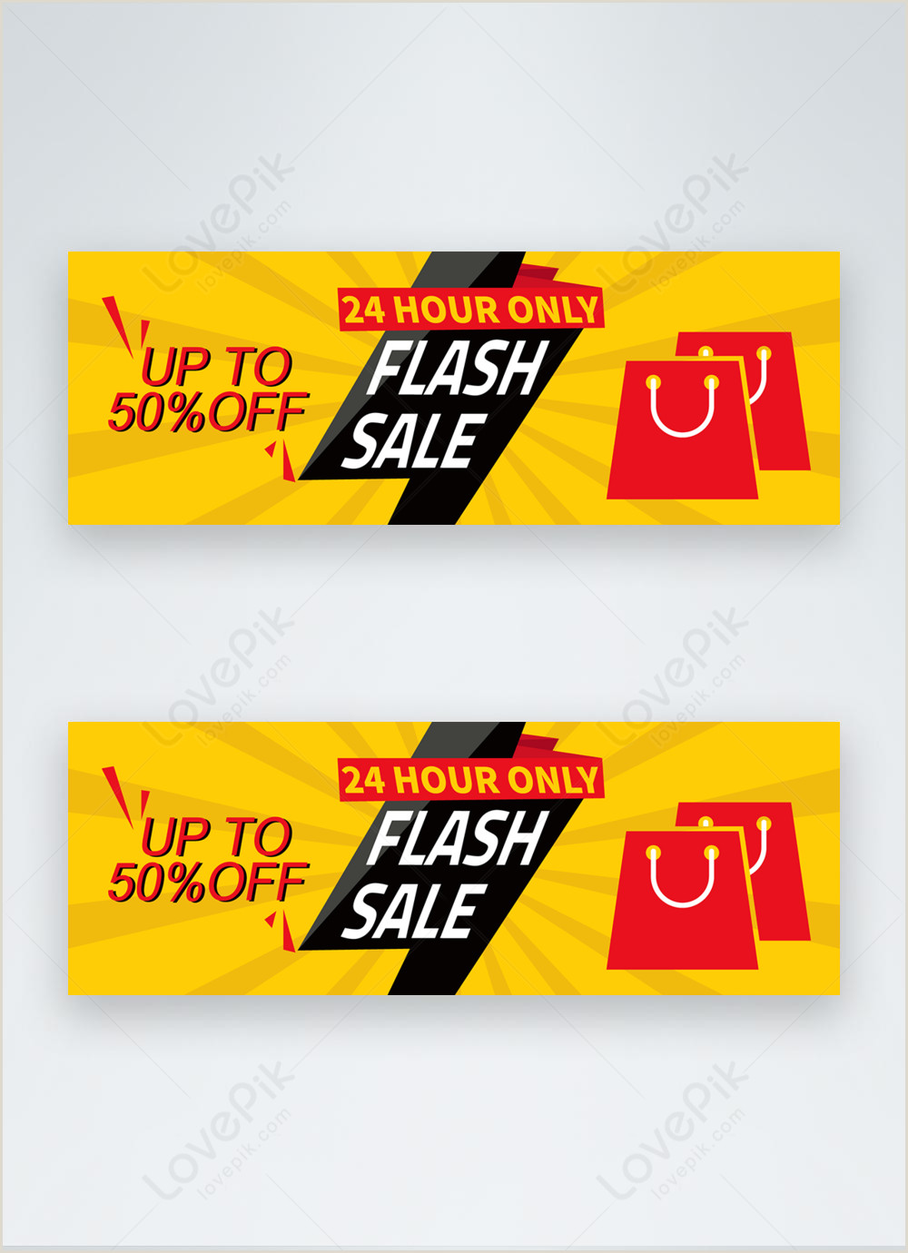 Banners On The Cheap Coupon Code Flash Sale Discount Offer Banner Template Image Picture Free