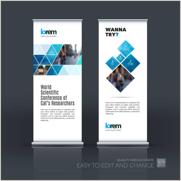 Banners With Stands Free Banner Stand Vector Art