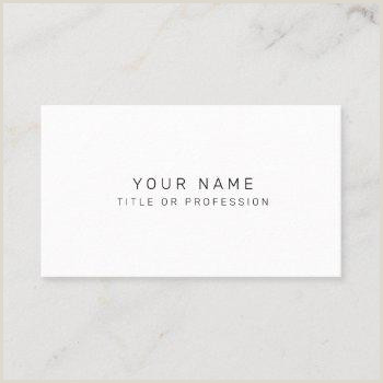 Basic Business Card Simple Business Cards
