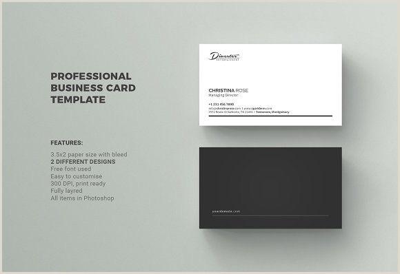 Basic Business Card Templates Business Card