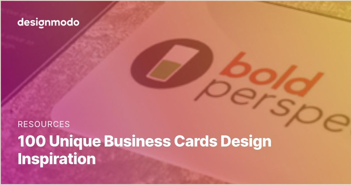 Beautiful Unique Business Cards 100 Unique Business Cards Design Inspiration
