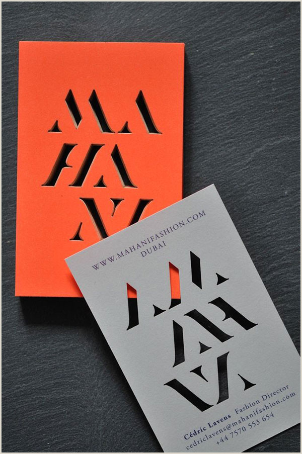 Beautiful Unique Business Cards 20 Coolest Business Cards That Get Remembered – Bashooka