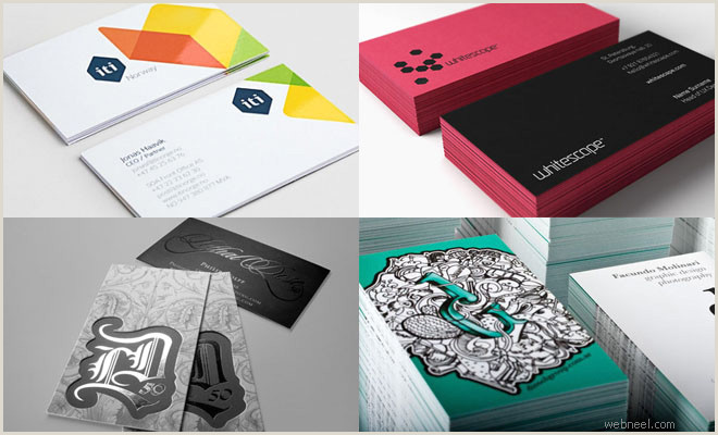 Beautiful Unique Business Cards 35 Creative And Most Beautiful Business Card Design Examples