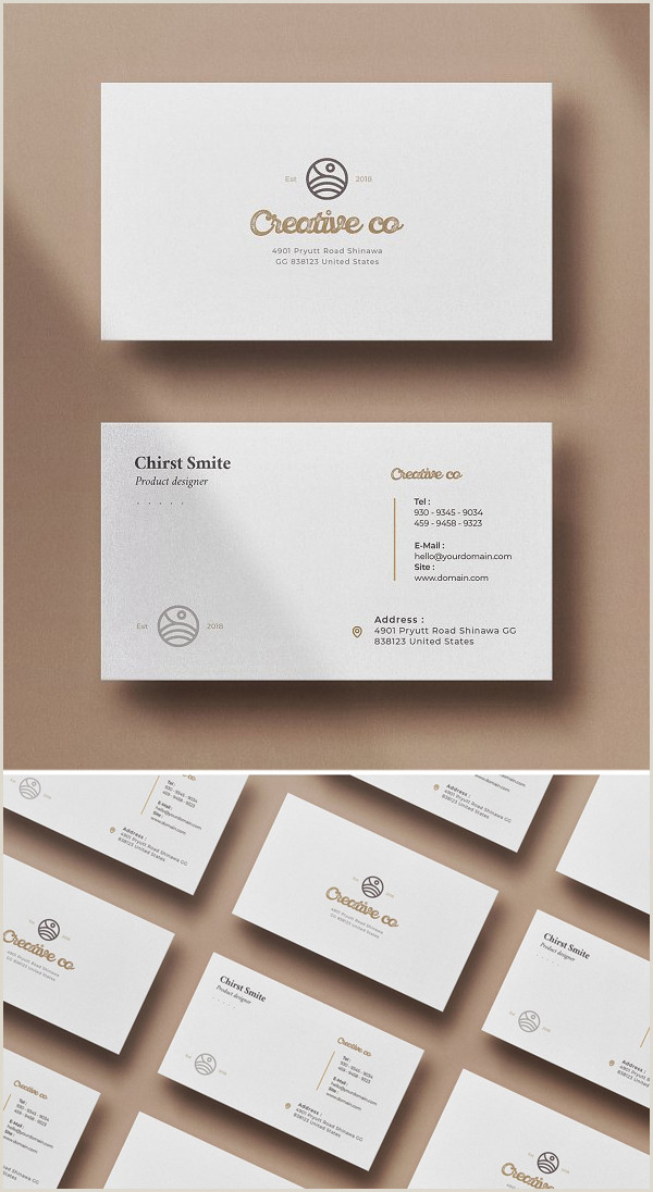 Best Business Card Designs 2020 25 Best Business Card Templates For 2020