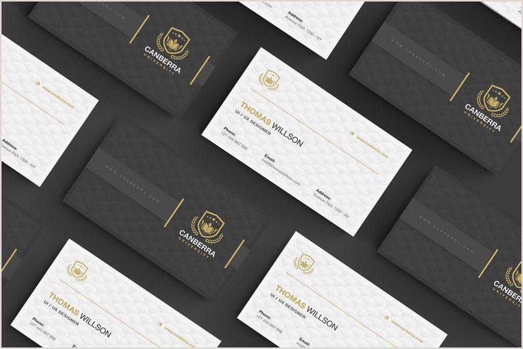 Best Business Card Format Best Business Card Design 2020 – Think Digital