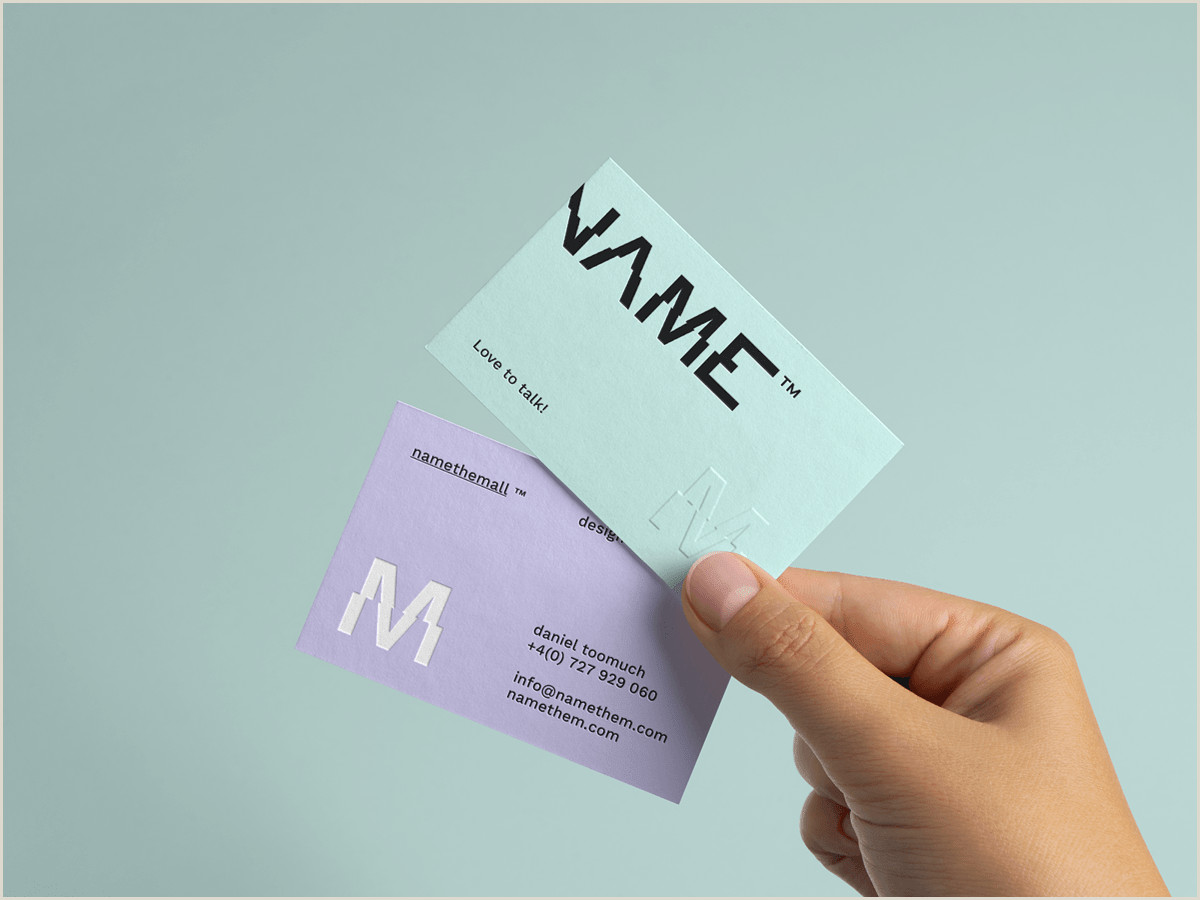 Best Business Card Website 2020 How To Create A Trendy Business Card In 2020