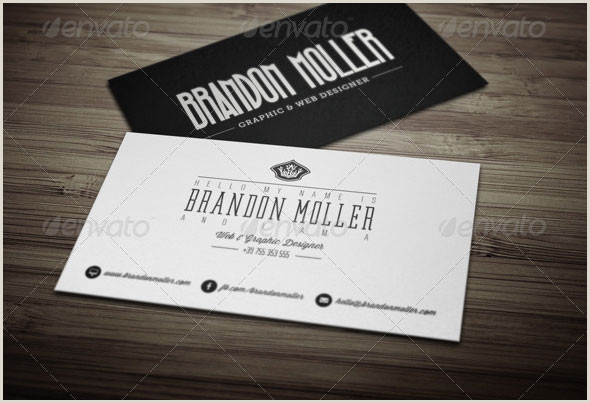 Best Business Cards 2012 15 Typography Psd Business Card Templates – Bashooka