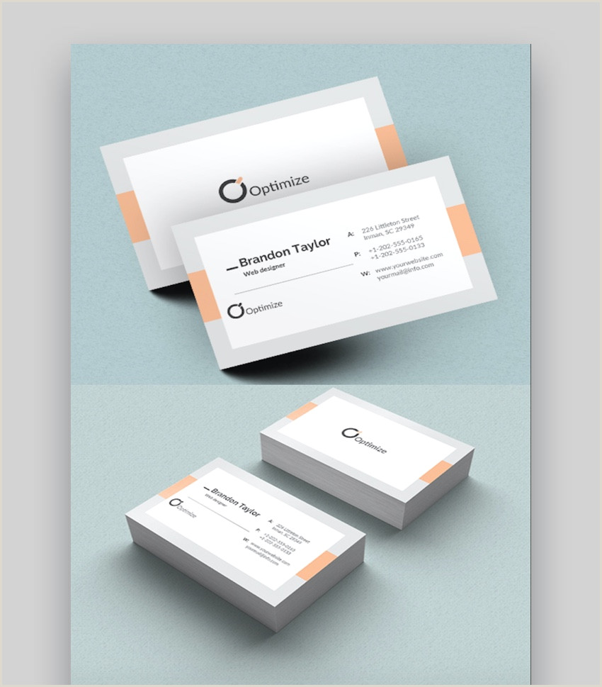 Best Business Cards 2012 20 Double Sided Vertical Business Card Templates Word Or