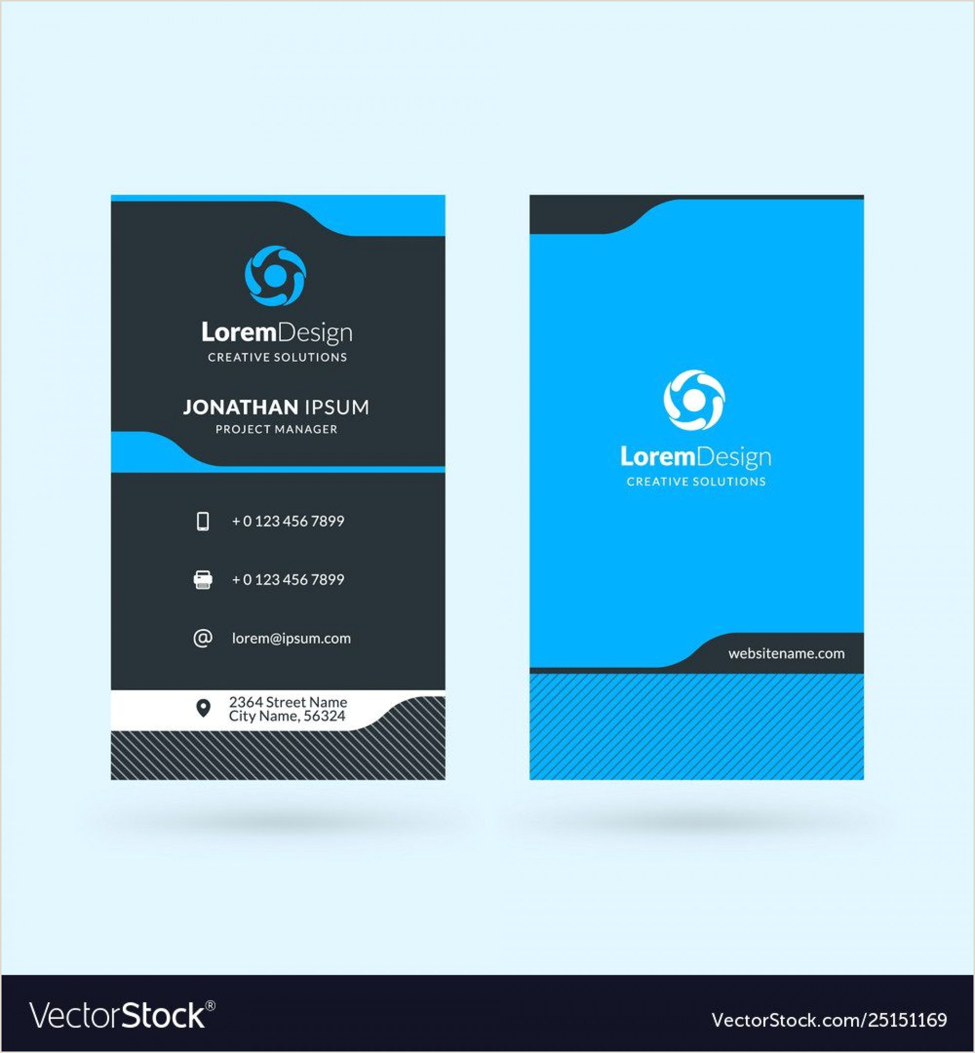 Best Business Cards 2012 Double Sided Business Card Templates Addictionary