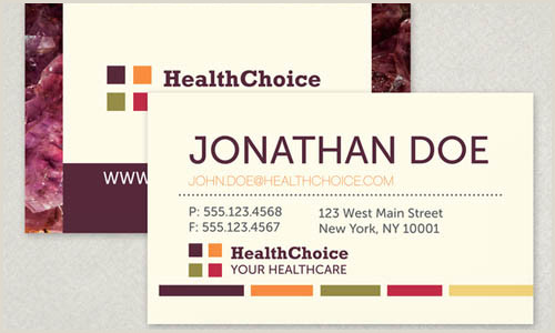 Best Business Cards 2020 Healthcarr 20 Medical Business Cards Design Examples