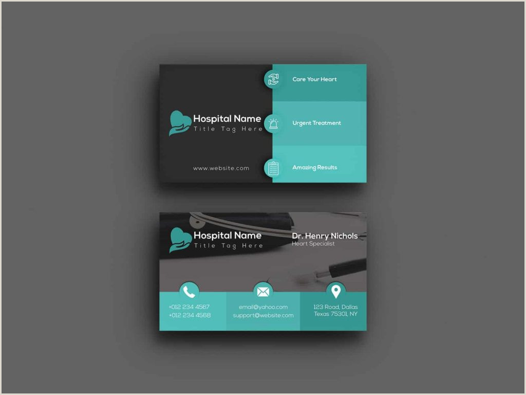 Best Business Cards 2020 Healthcarr 5 Best Medical Business Cards 2020