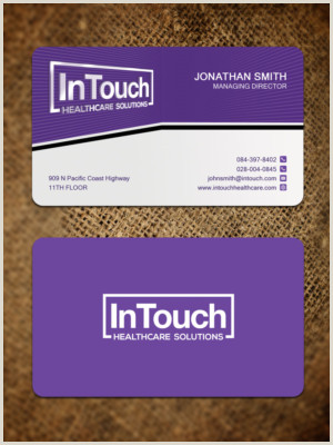 Best Business Cards 2020 Healthcarr Healthcare Business Cards