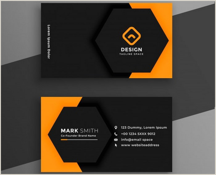 Best Business Cards 20209 30 Best Visiting Card Designs Templates 2020 Templatefor