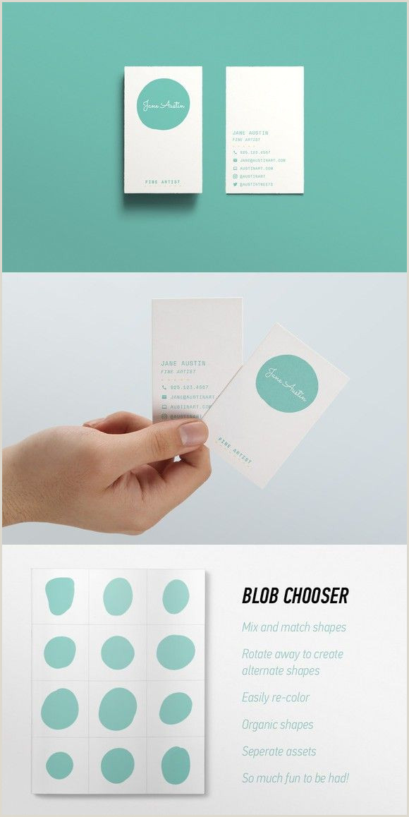 Best Business Cards Austin Austin Business Card Design With Images