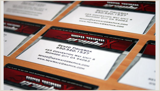 Best Business Cards Bay Area New Wave Graphix Business Cards Business Card Printing