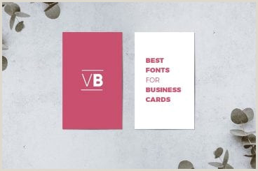 Best Business Cards Black And White Font 30 Best Fonts For Business Cards