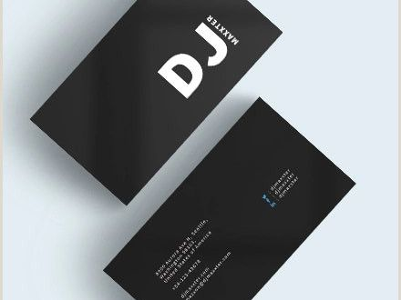 Best Business Cards Black and White Font 39 Black Business Card Templates Word Ai Psd