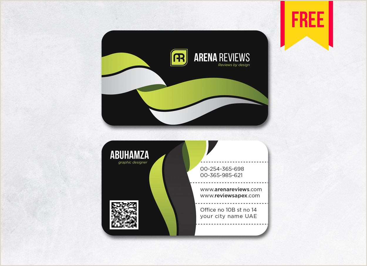 Best Business Cards Black And White Font Latest Black Business Card Template Ai