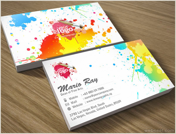 Best Business Cards Color True 30 Colorful Business Card Design Examples For Your Inspiration