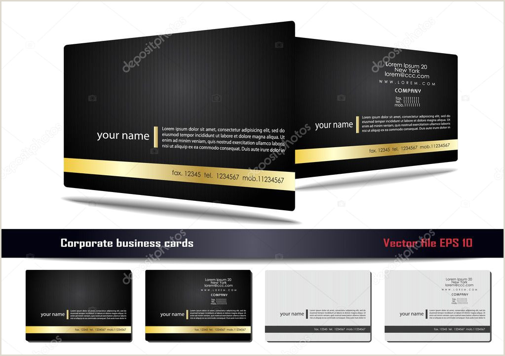 Best Business Cards Compay ᐈ Referral Card Template Stock Vectors Royalty Free Visit
