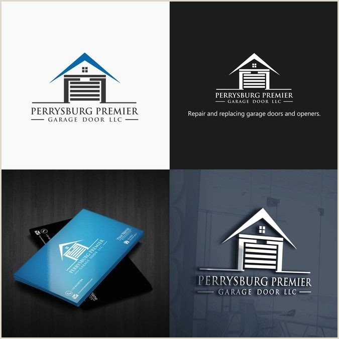 Best Business Cards Compay Design A Unique Logo For A Garage Door Pay By Fds