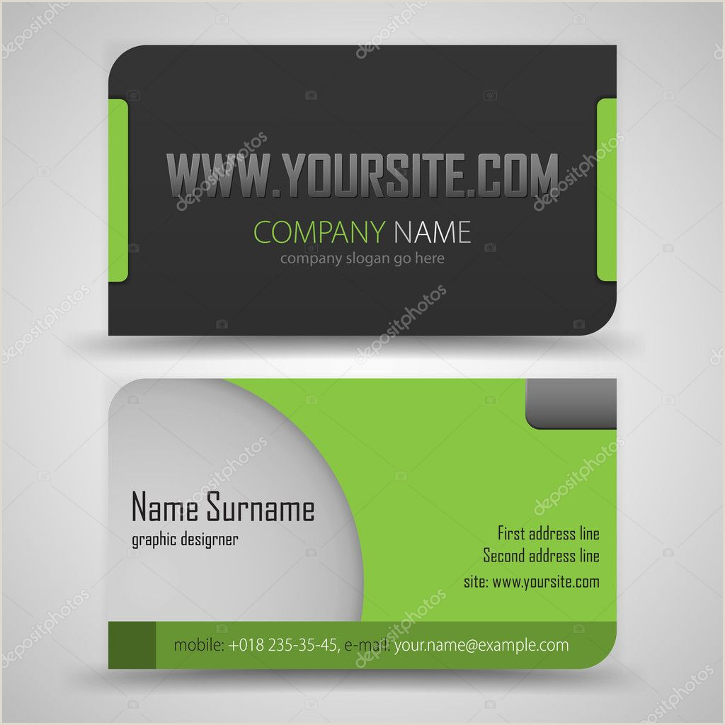 Best Business Cards Compay Fashion Business Card Stock Vectors Royalty Free Fashion