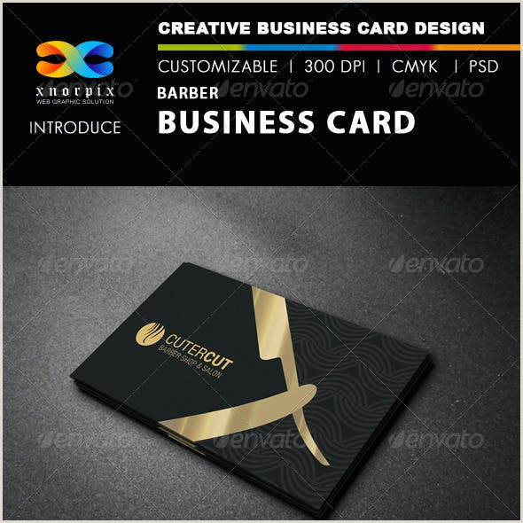 Best Business Cards Compay Hair Cut Stationery And Design Templates From Graphicriver
