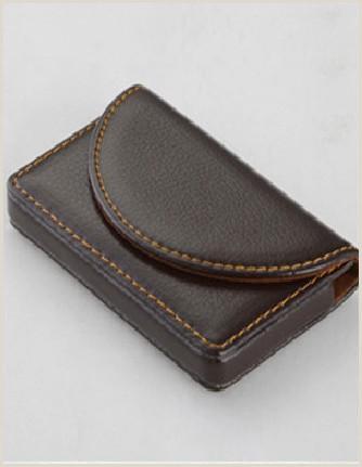 Best Business Cards Credit High End Men Card Holders Cases Black Brown Credit Business