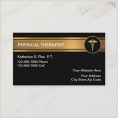 Best Business Cards Customize Print Ship 2020 200 Best Physical Therapist Business Cards Images In 2020