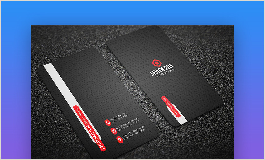 Best Business Cards Fit Small Business 25 Best Personal Business Cards Designed For Better